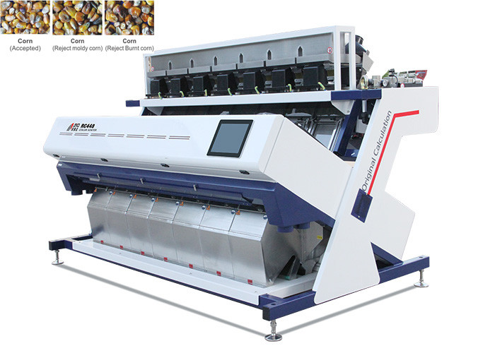 High Speed Corn Sorting Machine , High Definition Image Pulses Sorting Machine