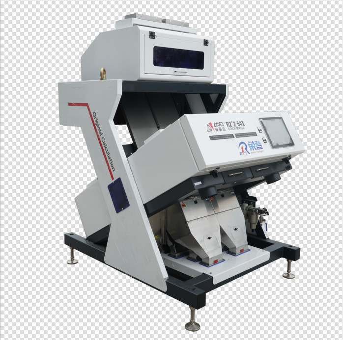 CCD Camera 1.5T/H 1.1KW Cereals Grain Sorting Machine
