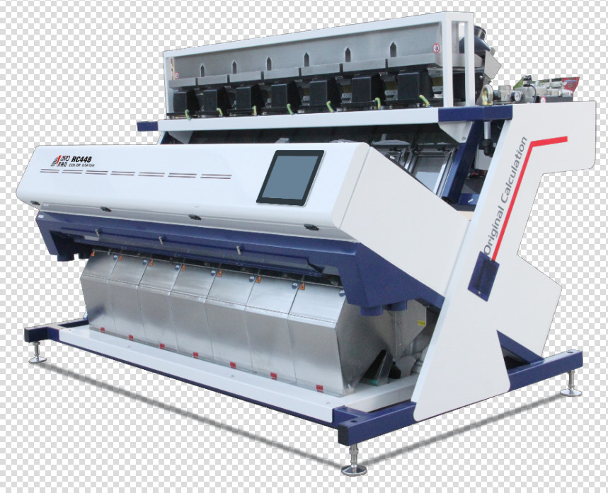 Remote Control Photoelectric 8T/H Rice Color Sorter